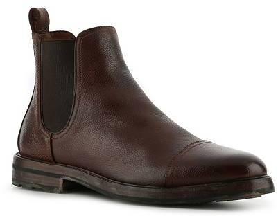 Ralph Lauren Mosley Leather Cap Toe Boot