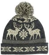 Burton Burton Stag Grey Fairisle Hat