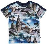 Molo Boy's Rishi T-Shirt - Dragon Island