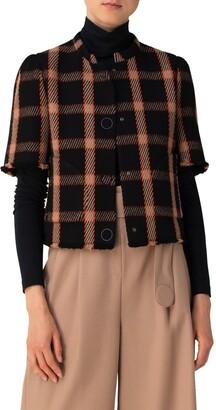 Akris Punto Wool & Cashmere Blend Jacket