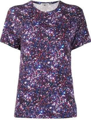 Marco De Vincenzo glitter print T-shirt