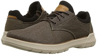Skechers Relaxed Fit Doveno - Reson (Chocolate) Men's Shoes