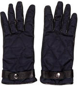 Burberry Leather Quilted Gloves