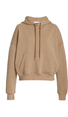 Wardrobe NYC Oversized Cropped Cotton Hoodie