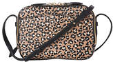 LK Bennett Mariel Leather Across Body Bag, Animal Print