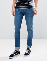 Pepe Jeans Finsbury Slim Fit Jeans in Mid Wash