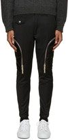 DSQUARED2 Black Twill Cargo Pants