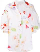 Peter Pilotto floral-print cotton shirt