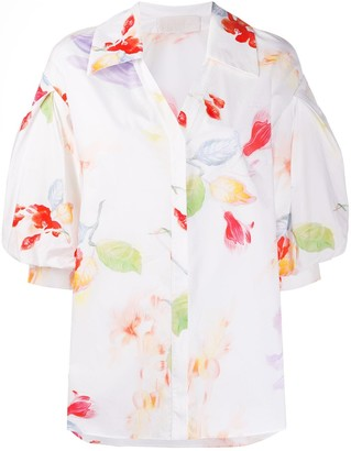 Peter Pilotto Floral-Print Cotton Shirt