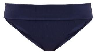 Melissa Odabash Brussels Ribbed Bikini Briefs - Womens - Navy