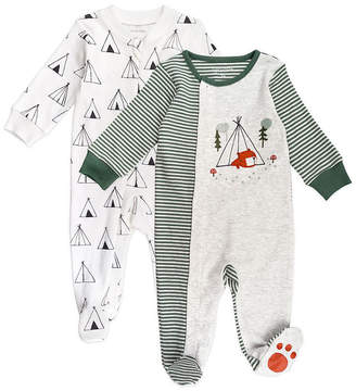 M·A·C MAC AND MOON Mac And Moon Camping Boys 2-pc. Sleep and Play - Baby