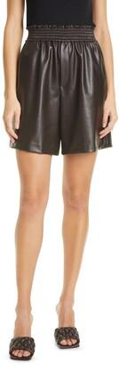 A.L.C. Kaleb Faux Leather Shorts