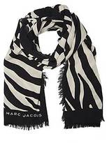 CONTEMPORARY Zebra Wool Stole