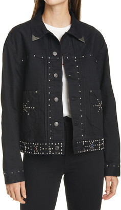 Polo Ralph Lauren Studded Trucker Jacket