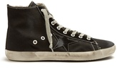 Golden Goose Deluxe Brand Francy high-top canvas trainers