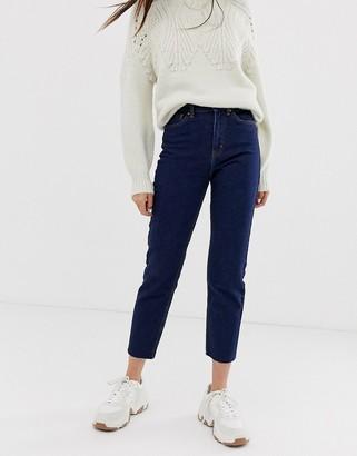 Only high waist straight leg jeans