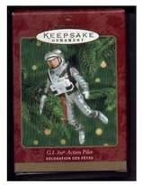 Hallmark 1 X 2000 Keepsake Christmas Ornament G. I. JOE ACTION PILOT QX6734