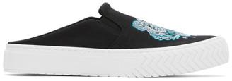 Kenzo Black Tiger K-Skate Mule Slip-On Sneakers