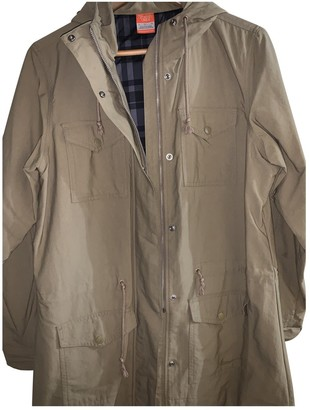 Nike Brown Polyester Jackets