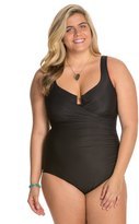 Miraclesuit Plus Size Solid Escape One Piece Swimsuit 8123678