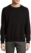 Billy Reid Dover French Terry Sweatshirt, Black