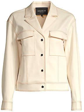 Lafayette 148 New York Women's Theodosia Denim Jacket