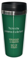 Tree-Free Greetings sg24613 Tribe College Football Fan Sip 'N Go Stainless Steel Lined Travel Tumbler, 16-Ounce