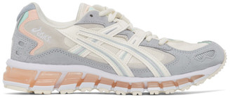 Asics Off-White and Grey GEL-Kayano 5 360 Sneakers