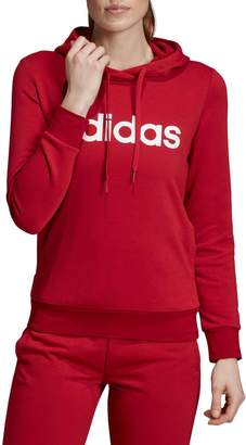 adidas Logo French Terry Pullover Hoodie