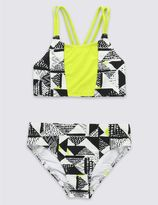 Marks and Spencer 2 Piece Printed Bikini Outfit (5-14 Years)