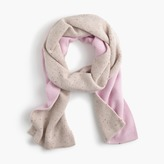 J.Crew Two-tone scarf in everyday cashmere