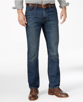 Tommy Hilfiger Men's Oscar Straight-Fit Dark Wash Jeans