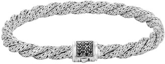 John Hardy Classic Chain Extra-Small Silver Lava Bracelet