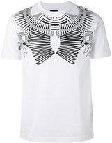 Les Hommes geometric print T-shirt - men - Cotton - S