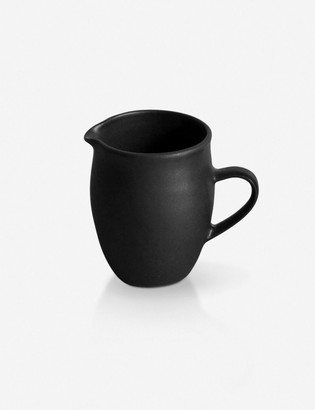 Lulu And GeorgiaLulu & Georgia Sheldon Ceramics Farmhouse Creamer, Satin Black