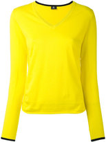 Paul Smith V-neck jumper - women - Cotton - XS