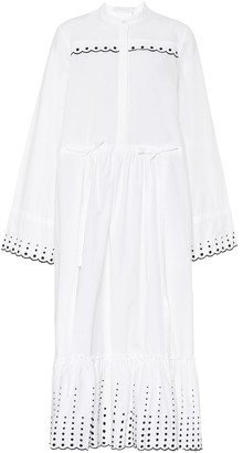 See by Chloe Cotton-twill dress