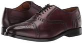 Cole Haan Kneeland Brogue Cap Toe Oxford (British Tan) Men's Shoes