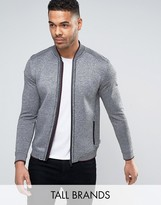 Ted Baker Tall Zip Through Baseball Jacket