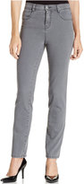 Style&Co. Style & Co Petite Slim-Leg Tummy-Control Jeans, Only at Macy's