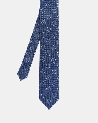Ted Baker ASSEM Tile print silk tie