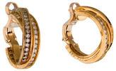Cartier Trinity de Diamond Hoop Earrings