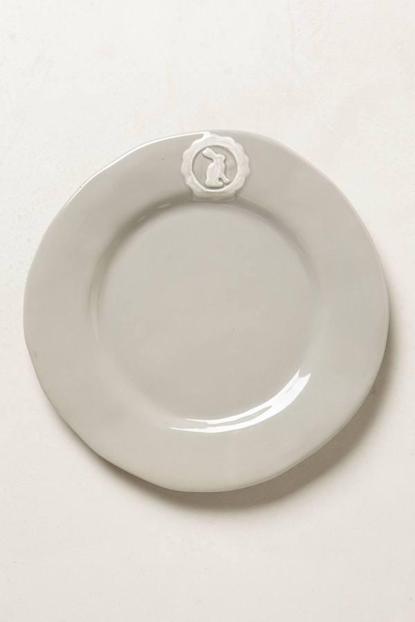 Anthropologie Lapin Crest Dinnerware