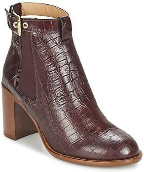 KG by Kurt Geiger SEBASTIEN women's Low Ankle Boots in Red