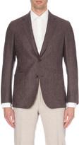 Richard James Single-breasted basketweave wool jacket