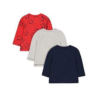 Mothercare Baby MB MC61 3PK TEE LS T - Shirt,(Size:68)