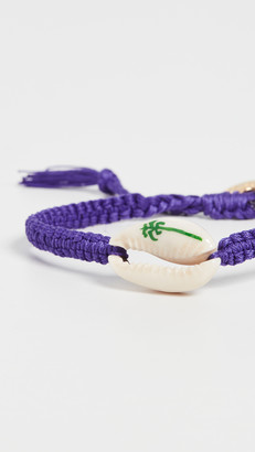 Venessa Arizaga Palm Tree Shell Bracelet