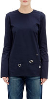 Nomia Women's Grommet-Embellished Tunic-Navy Size 4