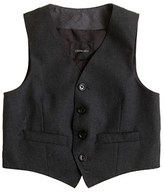J.Crew Boys' Ludlow suit vest with back buckle in Italian wool