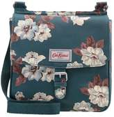 Cath Kidston TAB SADDLE MATT Across body bag dark teal